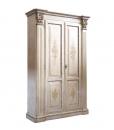 Armoire haut artisanat, armoire deux portes pour chambre, armoire classique style shabby