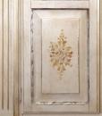 Armoire, armoire peint à la main, armoire en bois style italien