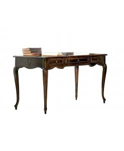 bureau, bureau en bois, meuble bureau style classique, bureau de cabinet élégant