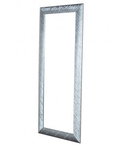 miroir rectangulaire, miroir argent brillant, miroir style moderne