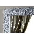 Miroir feuille d'argent brillant réf. DB-9865