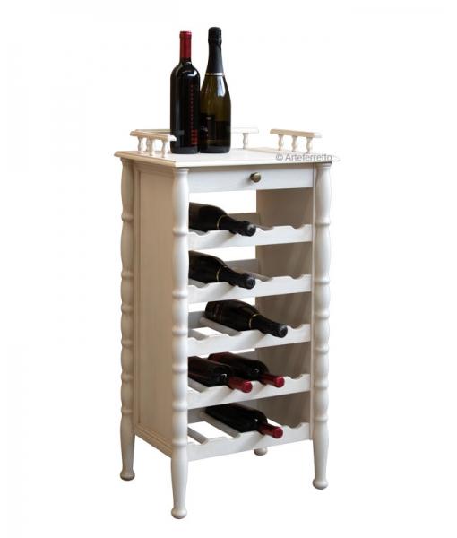 Meuble casier à bouteilles style classique réf. ER-846-AV