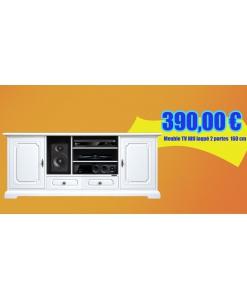 4070-SAV Meuble TV 160 cm en promotion