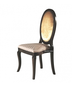 chaise, chaise ovale, chaise dossier ovale, chaise à empiler