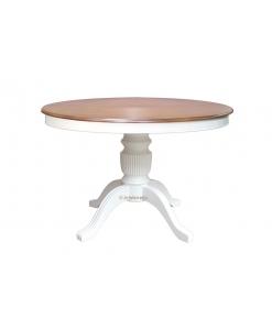 Table ronde bicolore 120 cm diamètre