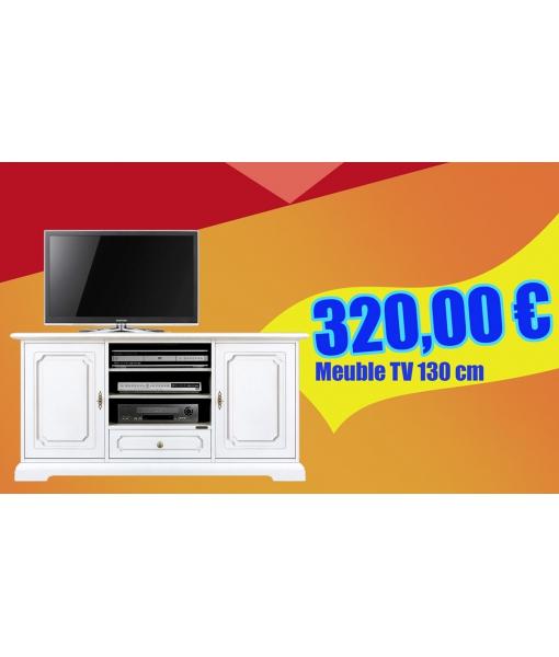 4040-SC Meuble tv 130 cm en promotion