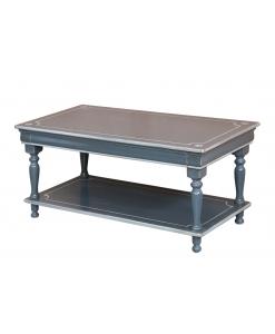 Table basse Louis Philippe finition vieillie