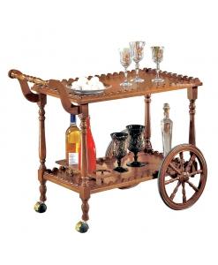 Chariot de cuisine à roulettes