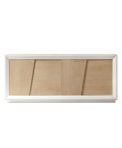meuble buffet contemporain design, buffet enfilade 4 portes
