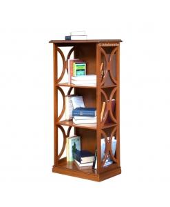 Bibliothèque petite taille, meuble bibliothèque en bois, meuble étagère range livres