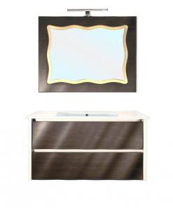 Meuble vasque salle de bain avec miroire réf. CM-02