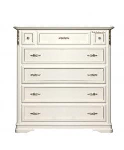 meuble commode blanche avec tiroirs pour chambre à coucher