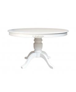Table à manger ronde 120 cm laquée