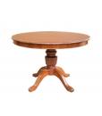 Table à manger ronde prolongeable 120 cm