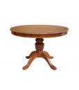 Table à manger ronde prolongeable 120 cm, Réf. 1446-120