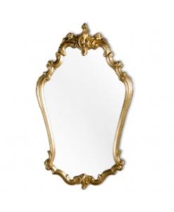 Miroir galbé style classique , miroir, miroir classique, miroir en bois