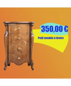 PROMO ! Petit meuble à tiroirs, chiffonnier, chiffonnier avec tiroirs