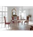Table prolongeable 180x100, salle à manger, meubles salle à manger, meubles salon classique