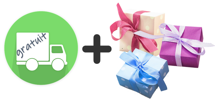 livraison et cadeaux offerts