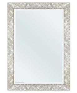 Miroir mural 100x70, miroir mural, miroir couleur blanc, miroir mural rectangulaire