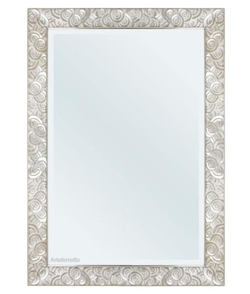 Miroir mural 100x70 à motifs circulaires réf. NE-02