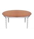Table à manger ovale réf. FV-36-BIC avec pieds tournés