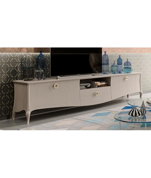 """Composition murale TV """"Original Wood"""" réf. MZ-C101"""