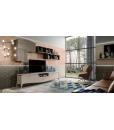 Composition murale TV, meuble contemporain pour salon, salon style contemporain