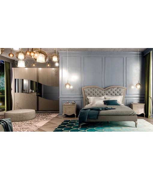 chambre complète, chambre adulte, chambre à coucher classique
