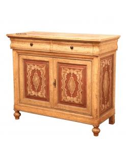 Commode Louis Philippe décorée à la main, commode, meuble commode, commode style louis philippe, commode classique