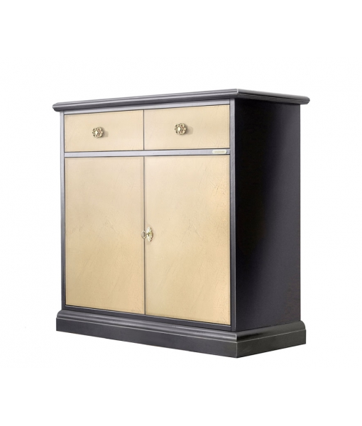 Buffet rangement 2 portes 1 tiroir  réf. 3012-BRO