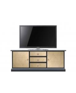 Meuble TV 150 cm, meuble tv style contemporain pour salon