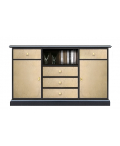 Meuble TV/Buffet polyvalent, meuble tv 130 cm, meuble buffet 130 cm, meuble style contemporain support tv ou buffet