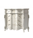commode, commode classique pour chambre, commode style classique, commode blanche