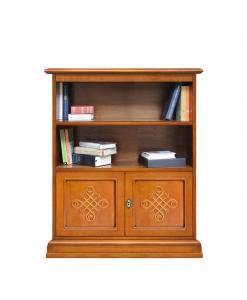 bibliothèque, meuble bas, meuble petite taille, meuble de rangement petite dimension
