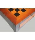 Table echiquier bicolore réf. 13065-BIC