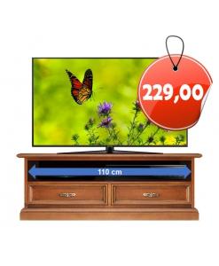 Meuble tv bas 120 cm largeur pour la barre de son