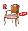 fauteuil style classique rembourré