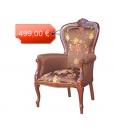 fauteuil, fauteuil classique, fauteuil fabrication artisanale