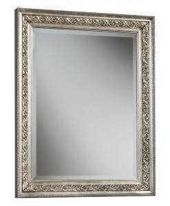 Miroir rectangulaire feuille or ou argent