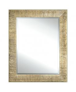 Miroir feuille d'or effet moletée, miroir, miroir rectangulaire, miroir sur mesure