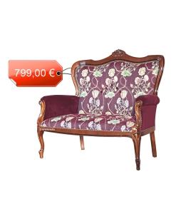 PROMO ! Canapé de style classique 2 places