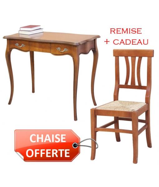 Combo bureau + chaise offerte