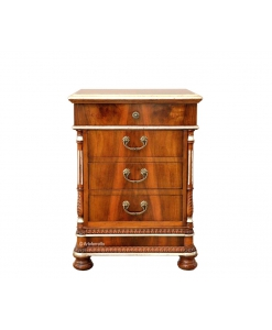 table de chevet, chevet 4 tiroirs, meuble chevet table de nuit, chevet classique