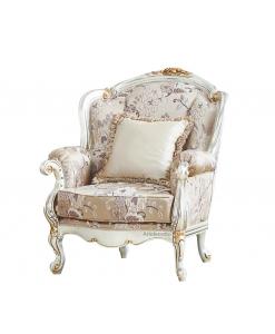 Fauteuil classique, fauteuil à oreilles, fauteuil bergère, fauteuil classique en bois
