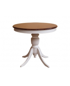 table ronde 90 cm, table ronde fixem table ronde pied central, table ronde salon