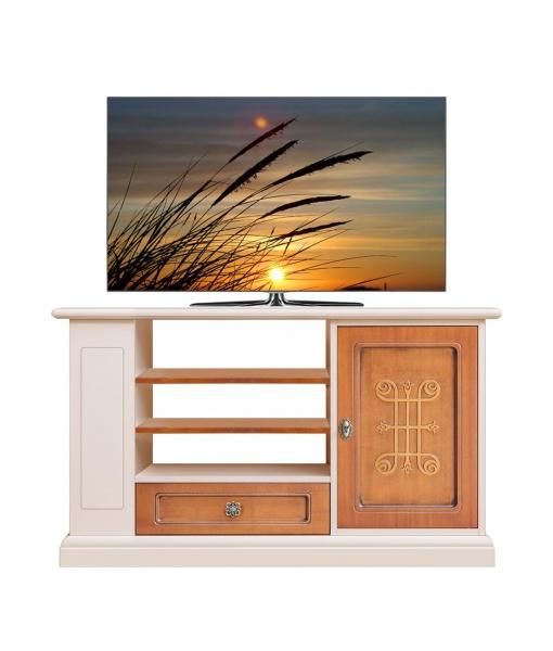 Meuble TV bicolore collection YOU réf. 3656-YOU