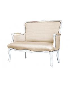 canapé. canapé classique, canapé deux places, canapé petite taille, canapé dossier haut