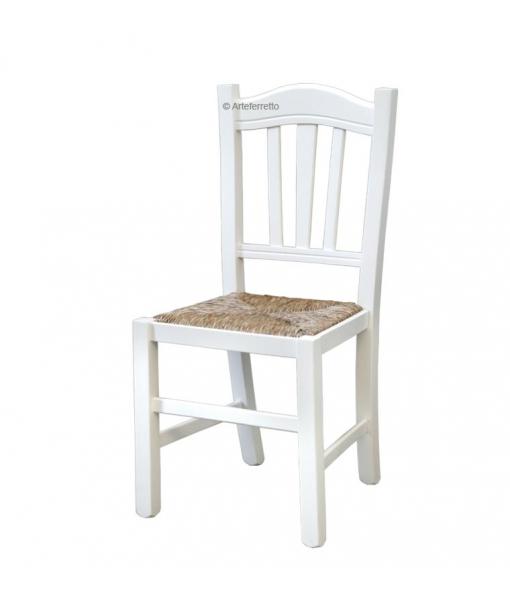 Chaise robuste en bois massif style rustique réf. FV-85-BI