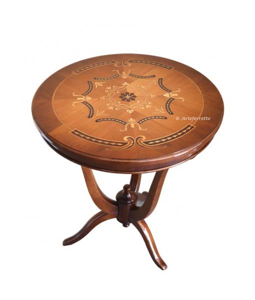 Table de salon Ø60, table de salon élégante, table de salon exclusive, table de salon ronde, table ronde pour salon, tabe classique guéridon